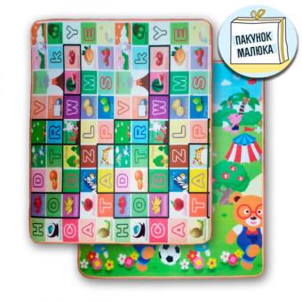 Дитячий килимок Алфавіт - Футбол (218,220)