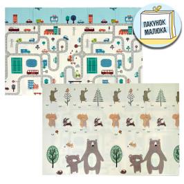 Дитячий килимок  Ліс - Дорога (235)