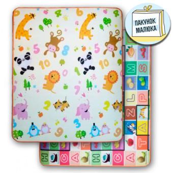 Дитячий килимок Зоопарк - Алфавіт (210)