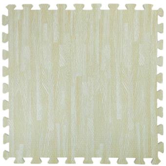 Пол пазл - модульне підлогове покриття песчане дерево (МР14)