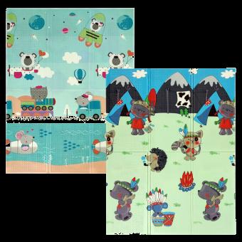 Дитячий килимок Подорож + Поляна (243,244,245)