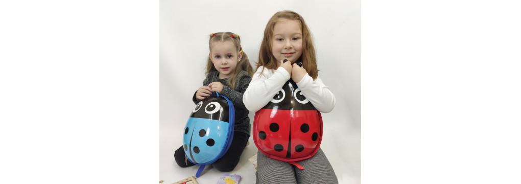 Види дитячих рюкзаків