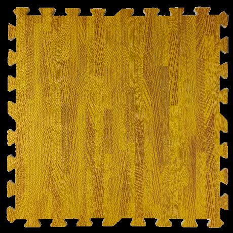 Пол пазл - модульное напольное покрытие янтарное дерево