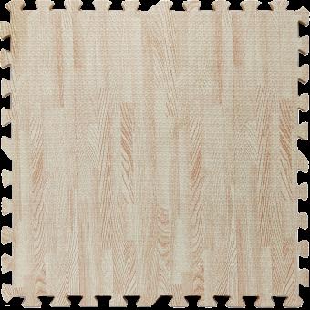 Підлога пазл - модульне підлогове покриття світло-рожеве дерево