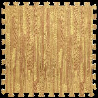 Підлога пазл - модульне підлогове покриття золоте дерево