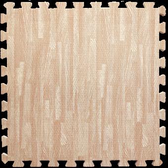 Підлога пазл - модульне підлогове покриття рожеве дерево