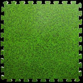 Підлога пазл - модульне підлогове покриття зелена трава (МР4)