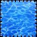 Пол пазл - модульное напольное покрытие океан (МР5)
