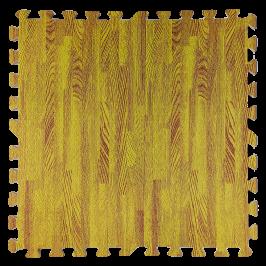 Підлога пазл - модульне підлогове покриття жовте дерево (МР7)