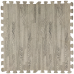 Пол пазл - модульное напольное покрытие серое дерево (МР9)