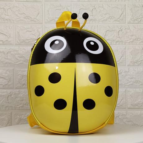 Рюкзак детский Божья коровка желтая