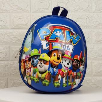 Дитячий рюкзак Веселі щенята команда синій