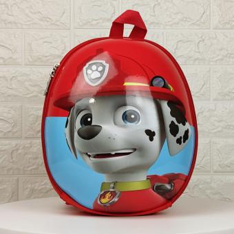 Дитячий рюкзак Веселі щенята червоний