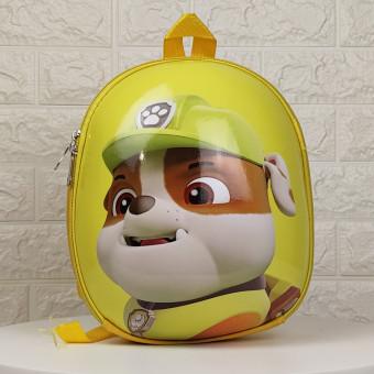 Дитячий рюкзак Веселі щенята жовтий