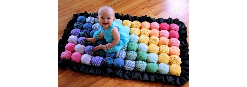 Дитячий килимок своїми руками