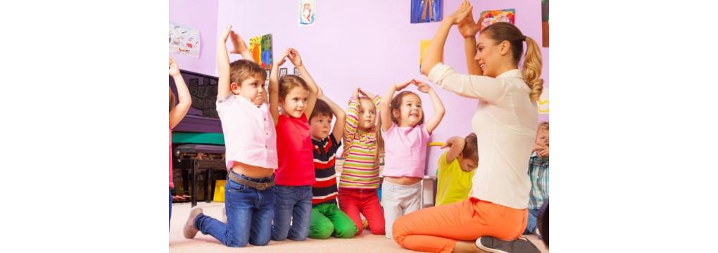 Чим зайняти дітей в дитячому садку?